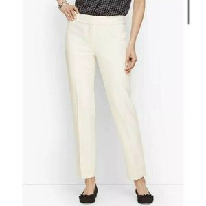 TALBOTS Hampshire Ankle Lined Petite Dress Pants